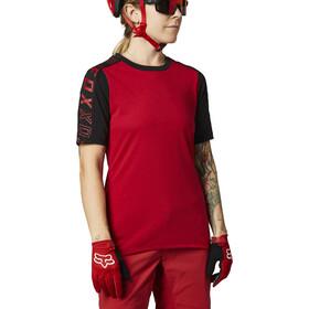 Fox Ranger Dri-Release SS Jersey Women, rojo